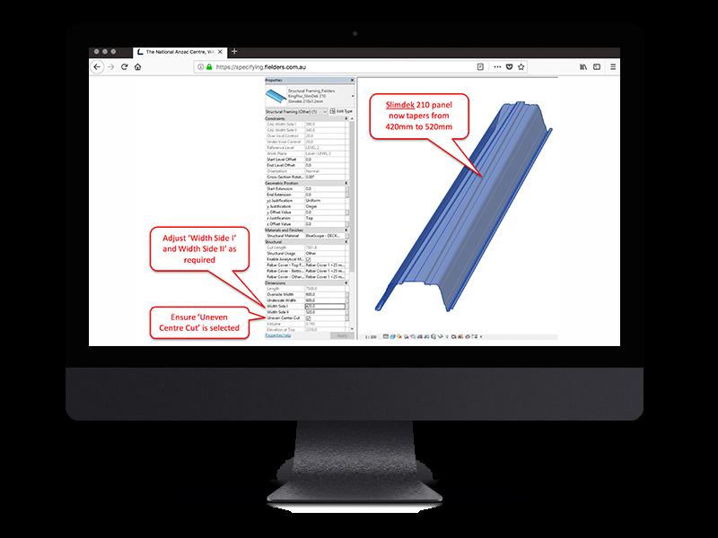 Slimdek 210™ Framing Family Tapering Image