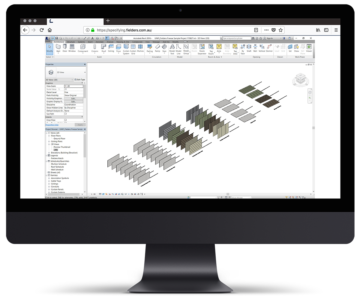 How to use Fielders' Finesse® Revit Content Library