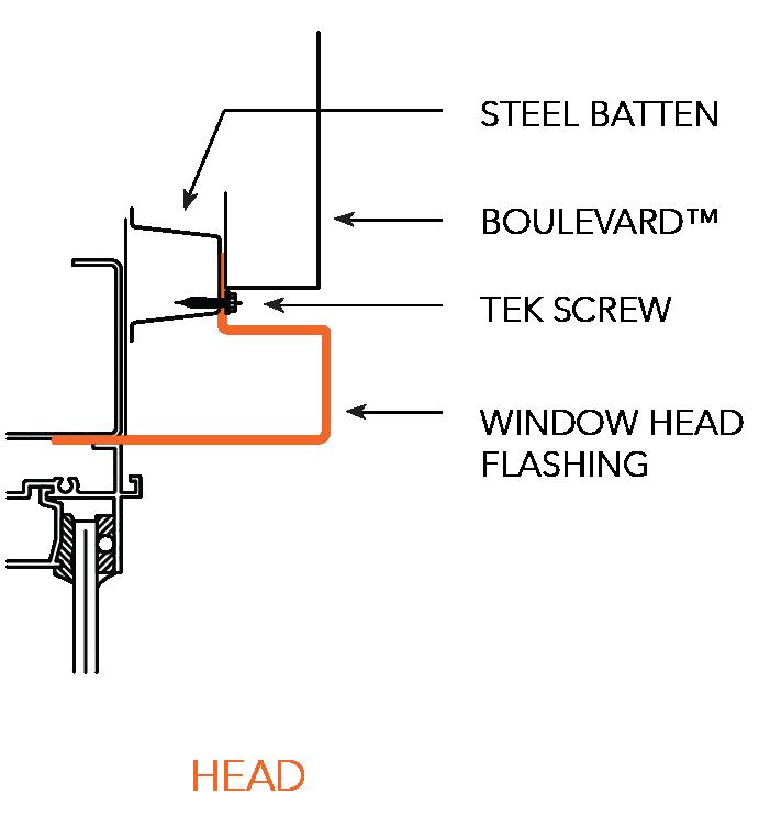 BOULEVARD™ NON-CYCLONIC Head (Section C) Figure BL ID NC 011