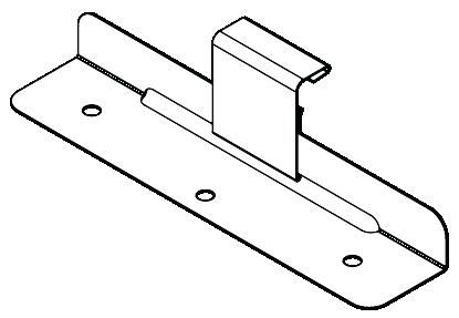 GRANDEUR™ NON-CYCLONIC Stainless Steel Clips Figure GR CL NC 002Grandeur™ Sliding Clip