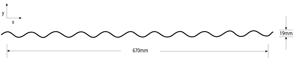 Heritage Barrel NON-CYCLONIC Rolled Profile Cross Section