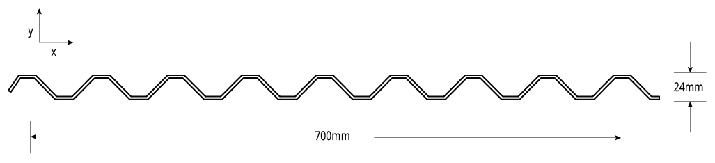 Spanform™ NON-CYCLONIC Profile Cross Section