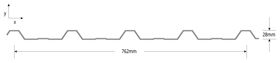 TL-5™ NON-CYCLONIC Profile Cross Section
