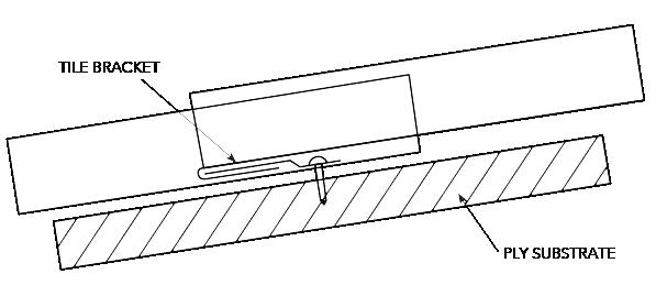 NEO ROMAN™ NON-CYCLONIC Installation Lap Joint Figure NR ID NC 017