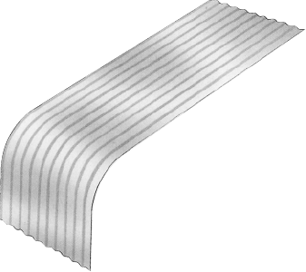 S-Rib™ Corrugated NON-CYCLONIC Figure SR NC Typical Curves 006